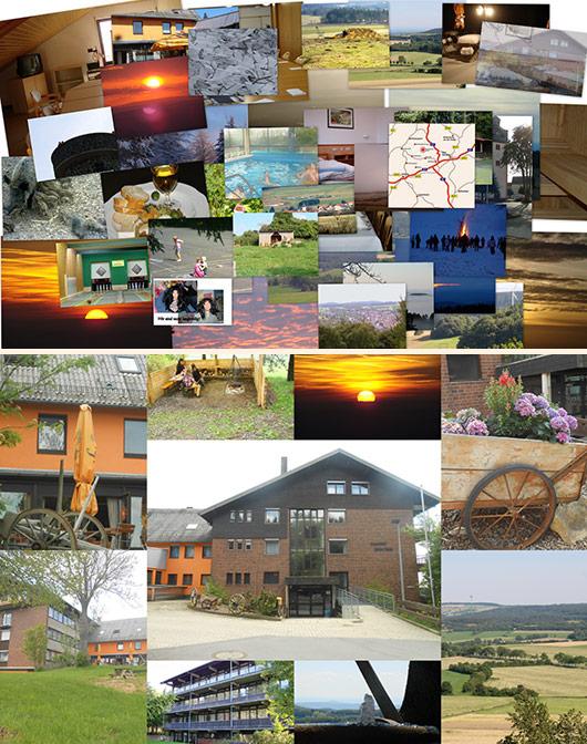 Bilder vom Boglerhaus in Schwarzenborn